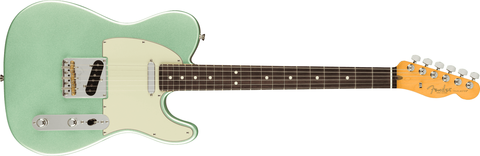 American Professional II Telecaster®, Rosewood Fingerboard, Mystic Surf Green