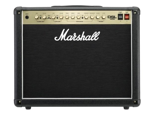 Marshall DSL40C 40-Watt 2 Channel 1 X 12-Inch Tube Amp Combo