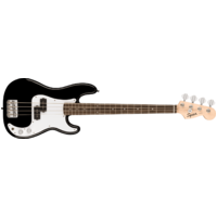 Fender Squier Mini P Bass®, Laurel Fingerboard, Black