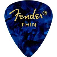 Fender Blue Moto, 351 Shape, Thin
