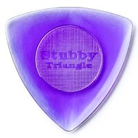 Jim Dunlop 20TRIS Triangle Stubby 2.00MM Gauge Guitar Picks Purple