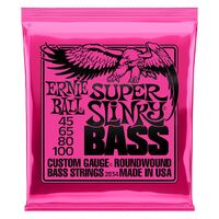 Ernie Ball Super Slinky 45-100 Electric Bass Strings