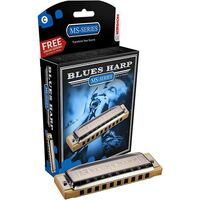 HOHNER NEW BOX BLUES HARP A