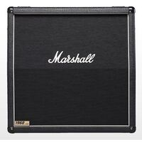 Marshall 1960A: 300W 4 x 12 Switchable/Stereo Angled Quad Box