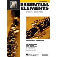 Essential Elements for Band Bb Clarinet - Book 1 with EEi