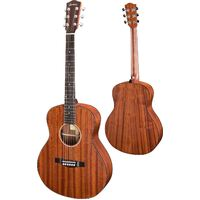 EASTMAN ACTG2E AC/ELEC TRAVEL GUITAR ALL SOLID SAPELE