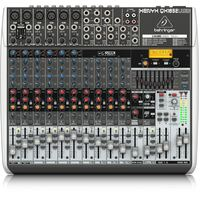 Behringer Xenyx QX1832USB Premium 18-Input, 3/2-Bus Mixer with KLARK TEKNIK Multi-FX Processor & USB/Audio Interface