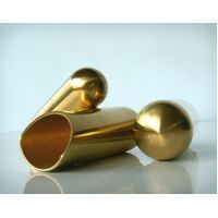 Large Balltip Brass Rock Slide