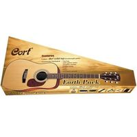 Cort Earth 70 Acoustic Guitar Pack w/ Solid Spruce Top