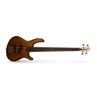 Cort Action PJ Bass Guitar - Walnut