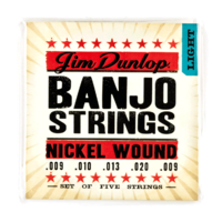 Dunlop DBN9 9 Gauge Banjo Strings