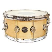 DW Performance 14 X 6.5 Snare Drum Natural Lacquer DRPL6514SSNA