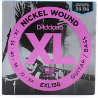 D'Addario EXL156 Strings For Fender Bass Vi