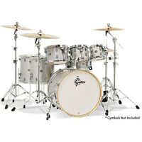 Gretsch Catalina Maple 7-Piece Euro Drum Kit - Silver Sparkle