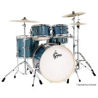 Gretsch Energy Series Euro 5-Pce Drum Kit in Blue Sparkle