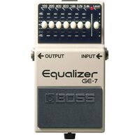 Boss GE7 7 Band Graphic Equaliser Pedal