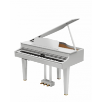 Roland GP607PW Grand Piano - Polished White