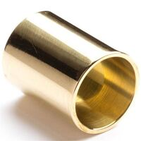 Dunlop J223 Short Brass Slide - Medium Diameter