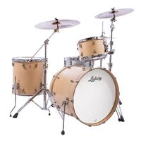 "Ludwig NeuSonic 22"" Kick 3-Piece Shell Pack - Sugar Maple"
