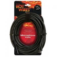 HOTWIRES 15FT XLR-XLR MIC LEAD