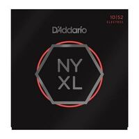 D'Addario NYXL1052 Nickel Wound Electric Guitar Strings, Light Top/Heavy Bottom 10-52