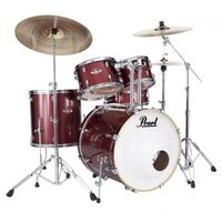 Pearl Export 5pce Fusion Plus Kit Black Cherry Glitter