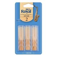 Rico Royal RJB0320 Alto Saxophone Reeds 2.0 Strength In 3-Reeds Pack