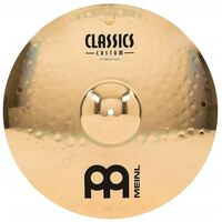 Meinl Classics Custom 18 Inch Brilliant Finish Medium Crash Cymbal