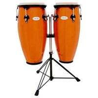 Toca Synergy 10 & 11-Inch Conga Set With Stand In Amber