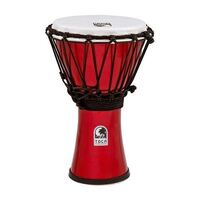 "TOCA 7""COLOUR DJEMBE MET.RED"