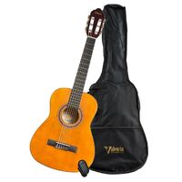 Valencia VC102K 1/2 Size Nylon Classical Guitar Package Natural