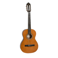 Valencia VC203H Series 200 Hybrid Thin Neck 3/4 Size Classical Guitar Antique Natural