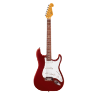 Essex VES62CAR Vintage Series Electric Guitar Candy Apple Red w/ Bag