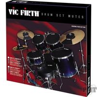 Vic Firth VFMUTEPP6 Pre-Pack Mutes 22 10,12,14, 16 Hi-Hat and Cymbal